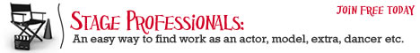 StageProfessionals.com - Global talent directory - actors, dancers, singers, extras, models and more.